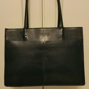 Alfani genuine leather bag