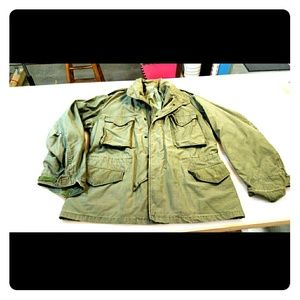 Vintage M65 Army Jacket from the 1960s size Large for sale