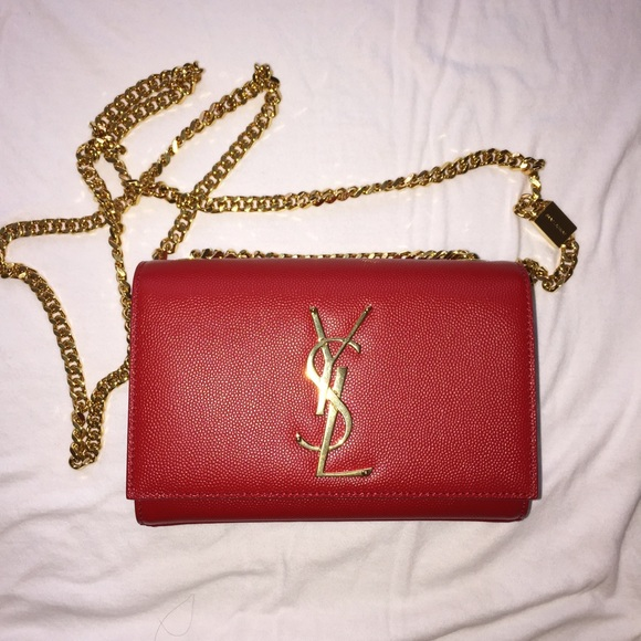 Red Ysl Bag Royal Blue Suede Clutch Bags