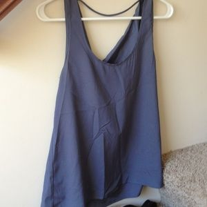 Boutique cowl back tank