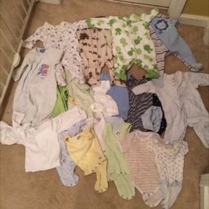Other - Lot of new born baby boy clothes.