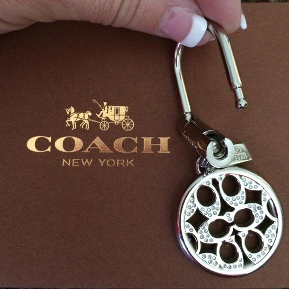 57 coach accessories authentic silver tone coach