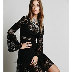 Nwt free people lovers folk song dress
