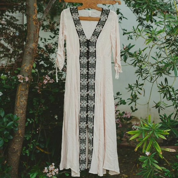 Nwt free people soft maxi dress
