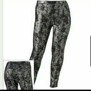 Jennifer Lopez snake skin foil pants