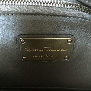 ddcec18245 Salvatore Ferragamo Bags - Salvatore Ferragamo Kamelia Python Shoulder Bag