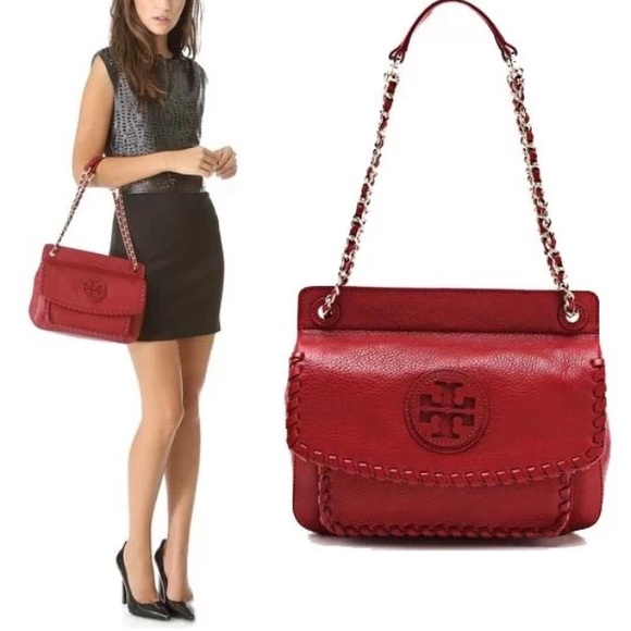 336aff3468c5c NWT Tory Burch Marion small shoulder bag