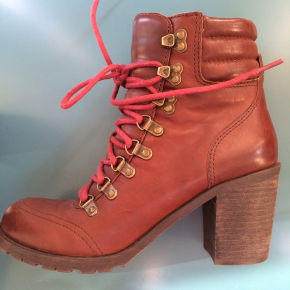 Lucky Brand Shoes | Laceup Boots | Poshmark