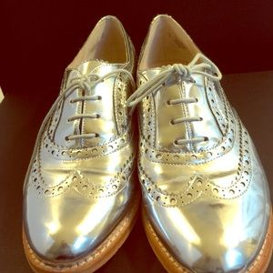 Sam Edelman Jerome Oxford Soft Silver