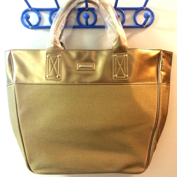 no sale tax separation shoes baby NEW! Large Versace Tote Bag