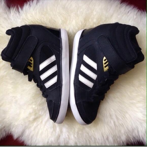 45 Off Adidas Shoes Adidas Clover Sky Hi Wedges