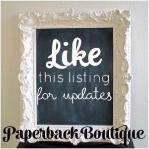 Like this listing for updates!