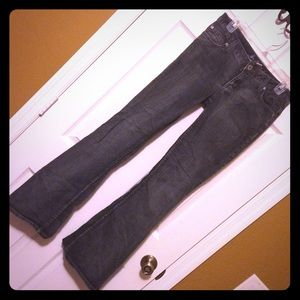 Miss Dark Denim Flare Jeans Size 7
