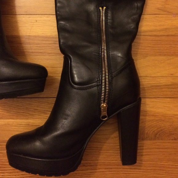 63 h m shoes gorgeous real leather knee high boots