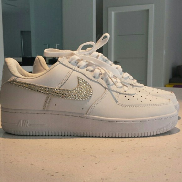 Mens Diamond Studed White Nike Air Force 1 s. M 54f1ef33eaf03072a300b473 b18b31528