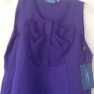 Fancy violet blouse