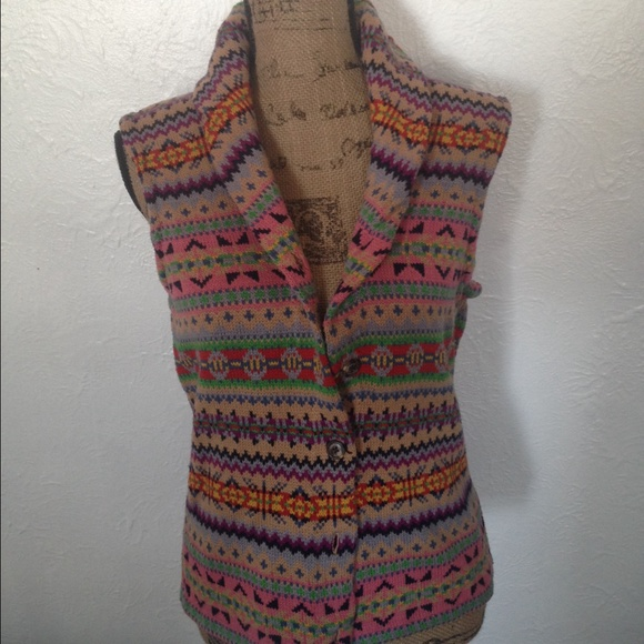 60% off Chaps Sweaters - Chaps Fair Isle Sweater Vest from ...