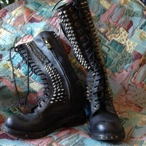 REDUCED Jeffrey Campbell studded boots