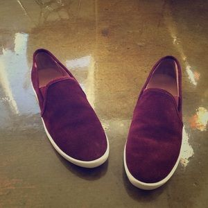 Joie Shoes - Joie Kidmore Slip On Sneaker in Merlot Suede