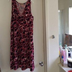 Cute short sleeve spring summer dress gently worn