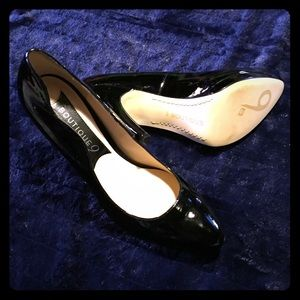 Boutique 9 Shoes - New black platform patent leather  heels
