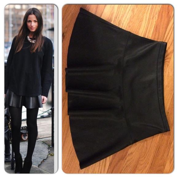 a1b6b3b78 Express Dresses & Skirts - Bundle-Express mini faux leather skirt size 6