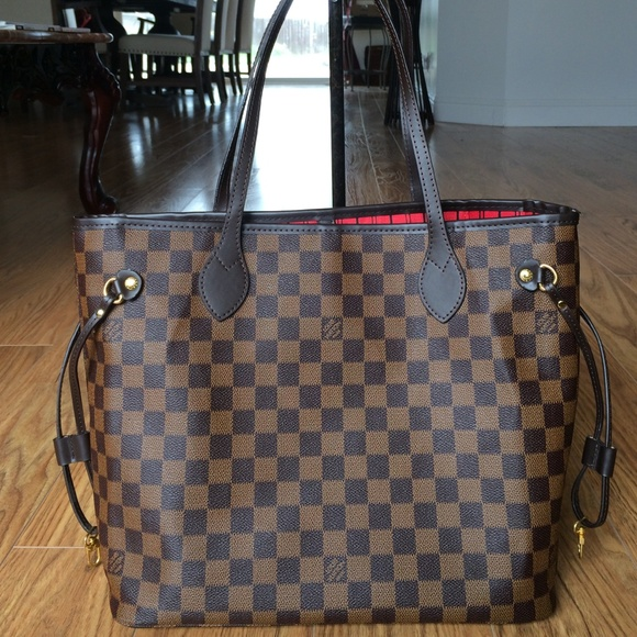 ffab68a73893 designer inspired Handbags - Damier azur neverfull Louis Vuitton inspired