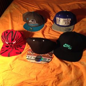 Other - 5 snap backs