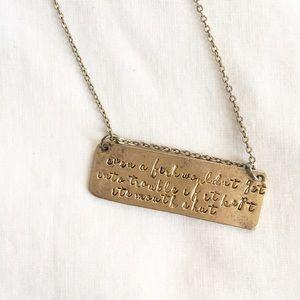 Alisa Michelle Jewelry - Alisa Michelle Gold Necklace