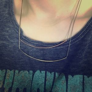 Jewelry - Two Bar Necklace