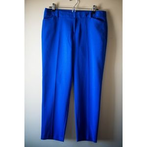 GAP Bright Blue Cropped Pants