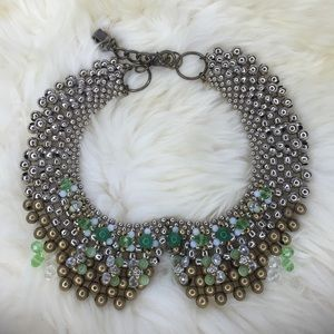 Anthropologie jeweled collar