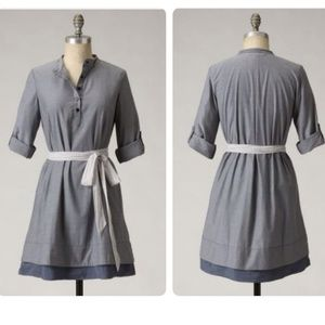 Anthropologie Bespoke Shirtdress