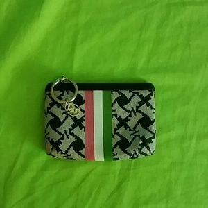 Juicy Couture coin and key chain holder