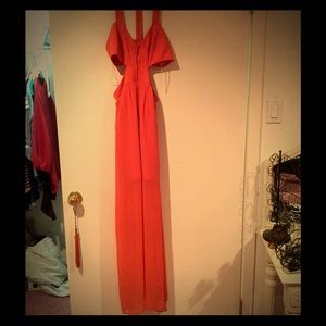 Orange Formal Dress