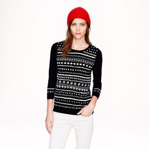 J. Crew Sweaters - Tippi in Embroidered Stripe