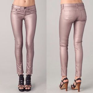 rag & bone Denim - 🆕rag + bone metallic rose skinny legging jeans
