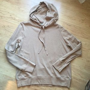 J. Crew Sweaters - ❌sold❌Lightweight Fleece Hoodie