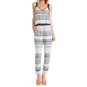 Jack by BB Dakota Pants - Black and white romper