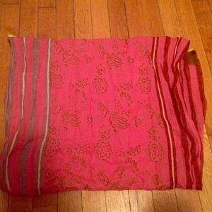Anthropology cotton scarf
