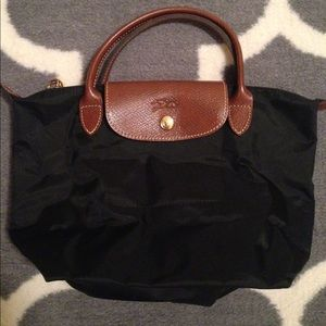 Authentic Longchamp Le Pliage small tote