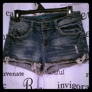 Ariya Pants - Ariya Distressed Jean Shorts