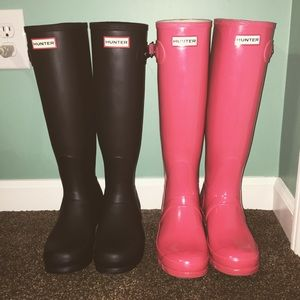 I LOVE my Hunter Boots ❤️