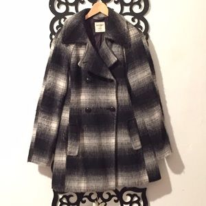 Old Navy Jackets & Coats - Ombré plaid coat