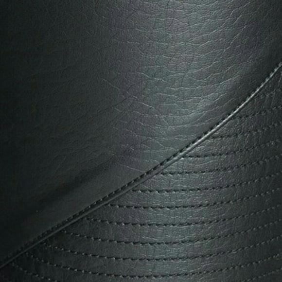 57 off trouve pants trouve leggings black faux leather for Define faux leather