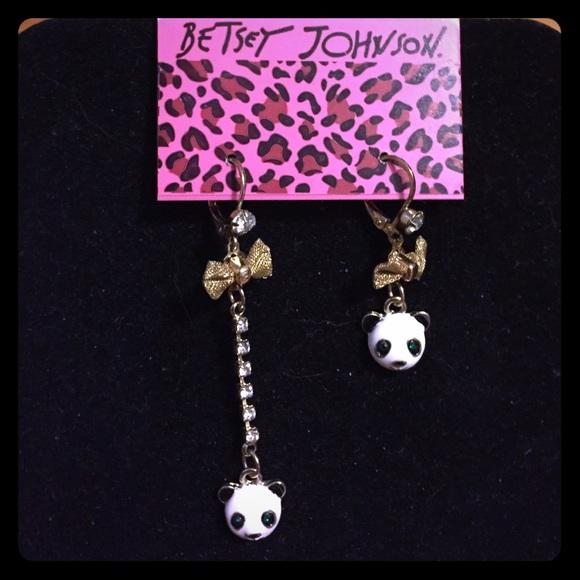 60 betsey johnson jewelry betsey johnson panda