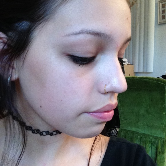 Brandy Melville Jewelry Fake Silver Nose Ring For Michelle
