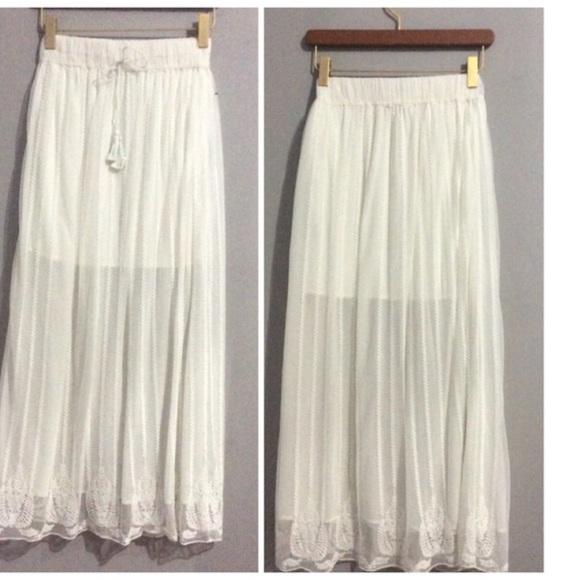 86 zara dresses skirts sale zara maxi skirt from