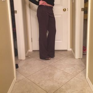BCBGMaxAzria Pants - BCBGMaxAzria brown slacks