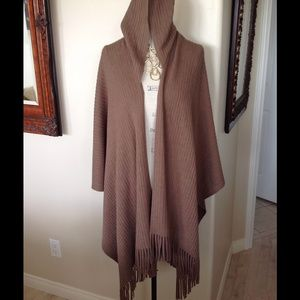 Wrap Poncho Sweater